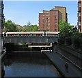 TQ2782 : Crossing Regent's Canal by John Sutton
