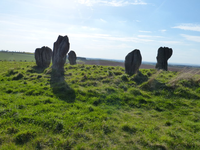 The Five Stones at Duddo