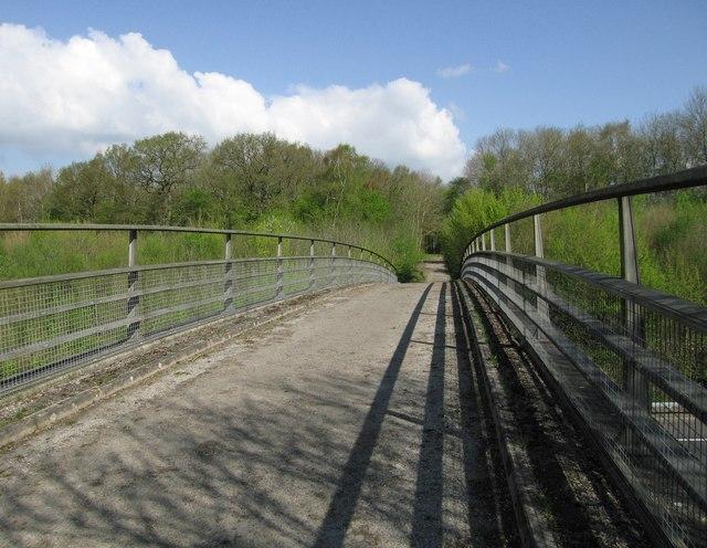 Bridge over the M26
