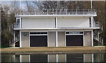 SP5105 : Jesus College and Keble College Boathouse by N Chadwick