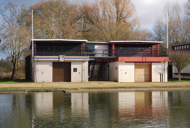Pembroke College and St Edmunds Hall College Boathouse