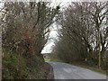 SX4985 : The road to Galford Down by David Smith