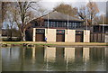 SP5105 : Wadham College, St Anne's College and St Hugh's College Boathouse by N Chadwick