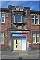 SJ8744 : Booth Street Drill Hall - Entrance by John M