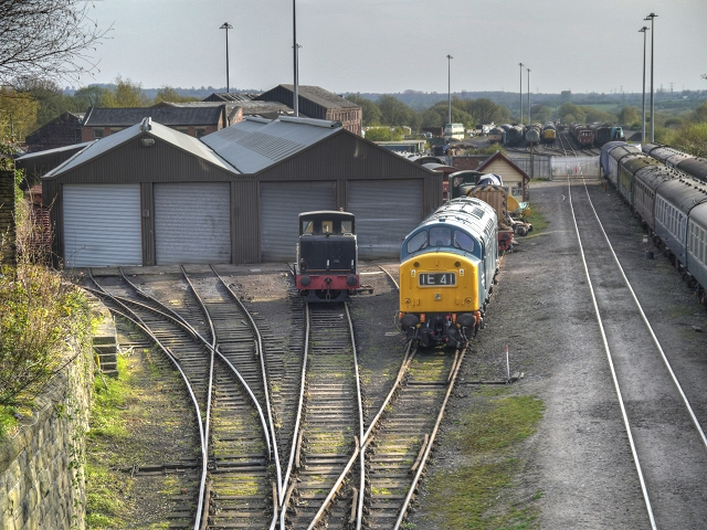 East Lancashire Railway Loco Sheds, Buckley Wells
