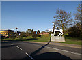 SU9850 : Perimeter Road & The University of Surrey sign by Adrian Cable