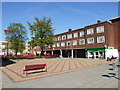 TQ5474 : Temple Hill Square, Dartford by Chris Whippet
