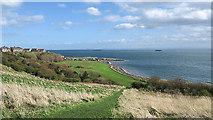 NT3597 : View from the Fife Coastal Path near Buckhaven by William Starkey