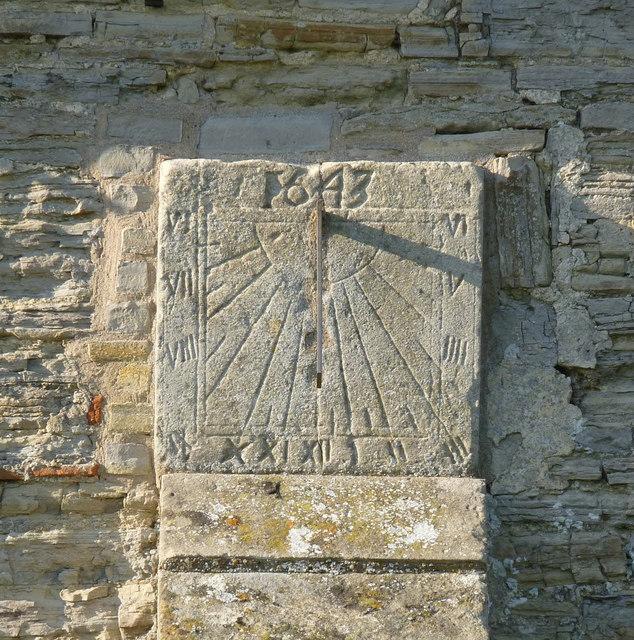 Sundial, St Michael's Church, Cotham