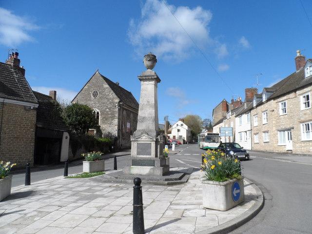 War memorial, Wotton-Under-Edge