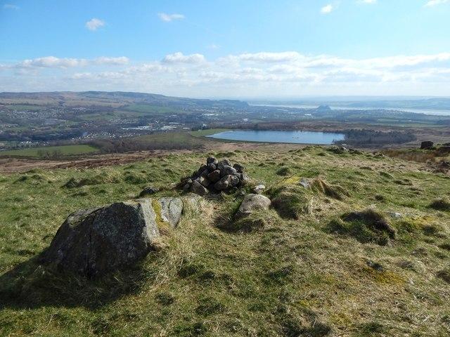 The summit of Carman Hill