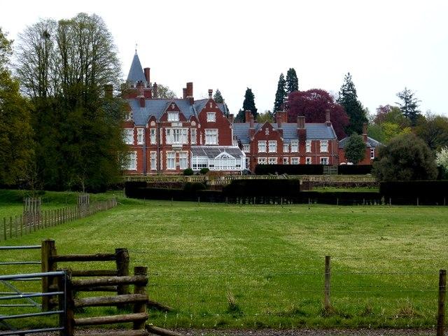 Bagshot Park, tenanted by Prince Edward