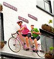 "J3374 : Giro d'Italia tandem, ""Duke of York"", Belfast (April 2014) by Albert Bridge"