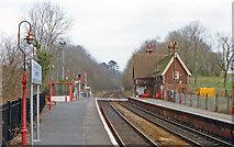 TQ2151 : Betchworth station, 1990 by Ben Brooksbank