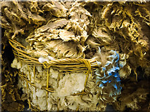 HU4642 : Wool Clip at Jamieson and Smith - Shetland Wool brokers by Julian Paren