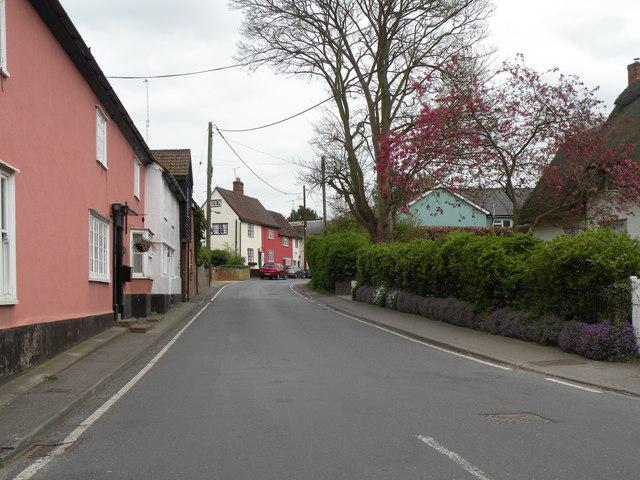 Radwinter Road in Ashdon