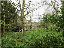 TM3569 : Farm Building at Sibton Abbey by Geographer