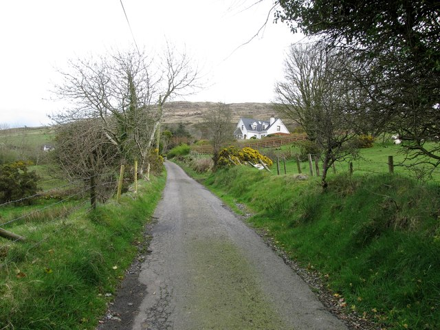 Modern house on Mountain Road, Camlough