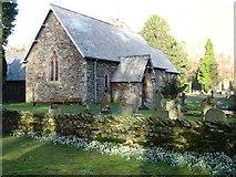 NY3916 : St Patrick's church, Patterdale by David Purchase
