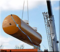 J3774 : Fuel tank delivery, Strandtown, Belfast - April 2014(6) by Albert Bridge