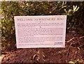 SU8968 : Crown Estate Whitmore Bog reinstatement notice by Phillip Williams