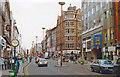 TQ2881 : Oxford Street: by Bond Street Underground station, 1989 by Ben Brooksbank