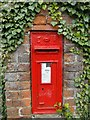 TG1633 : Edward VII wall postbox at Wickmere by Adrian S Pye
