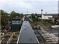 TQ6002 : Overlooking Hampden Park station by PAUL FARMER