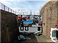 TV6299 : Entrance to the Redoubt Fortress, Eastbourne by PAUL FARMER