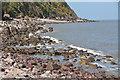 SS9548 : West Somerset : Pebble Coastline by Lewis Clarke