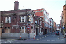 SK5804 : Leicester, The Lanes Quarter by David Hallam-Jones