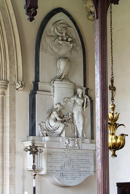 St Mary Magdalene church, Sherborne: Princess Bariatinsky monument
