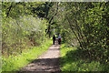 SK8436 : Sustrans National cycle route No.15 by Kate Jewell
