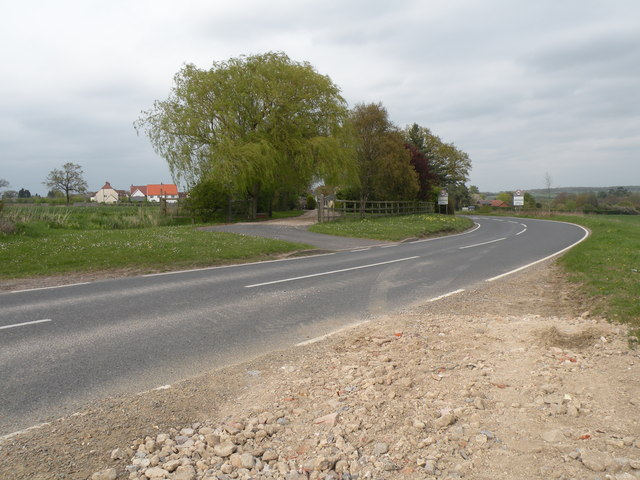 Walden Road looking towards Ashdon