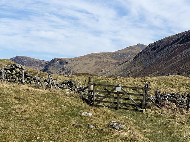 Path to Glen Taitneach