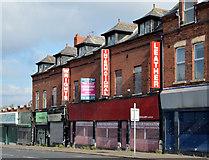J3674 : Nos 24-40 Upper Newtownards Road, Belfast (April 2014) by Albert Bridge