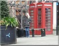 SJ8990 : Grade II Listed phone boxes by Gerald England