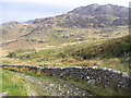SH6245 : Track, South of Yr Arddu by Chris Andrews