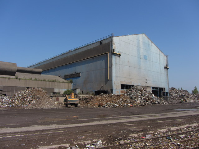 Celsa steelworks, Cardiff by Gareth James