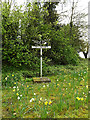TM4191 : Gillingham Village sign by Adrian Cable