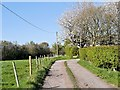 SD5910 : Track to Maxwell Farm by David Dixon