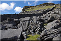 SD8372 : Boulder field, Pen-y-ghent by Ian Taylor