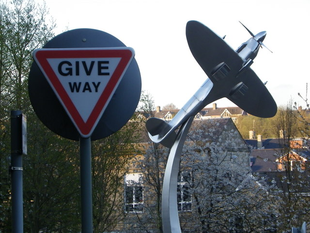 A good place to give way for a Spitfire view!