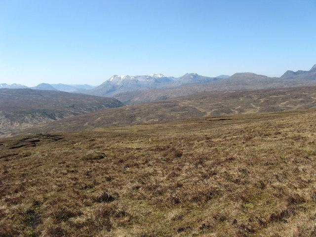 Slopes of Beinn nan Ramh