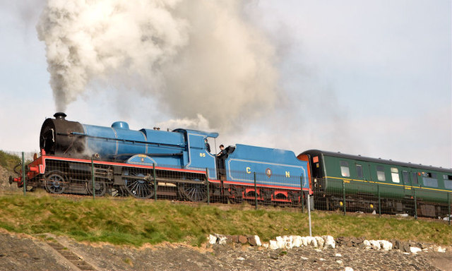 Steam locomotive no 85, Whitehead - April 2014(2)