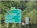 H2595 : Road sign, N15 by Richard Webb
