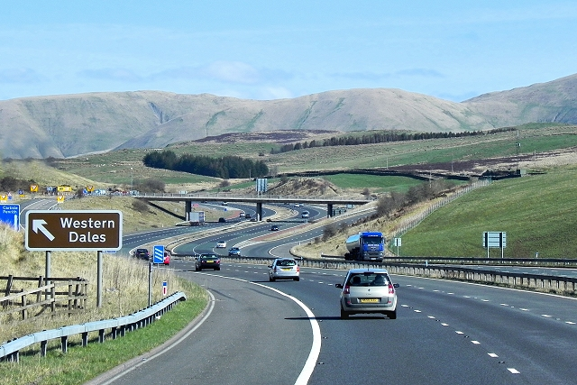 The M6 in Cumbria - Motorway with a View
