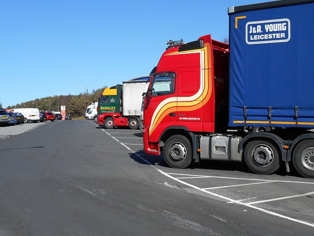 Tebay Services Lorry Park, Northbound M6