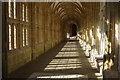 ST5545 : Wells Cathedral Cloisters by Stephen McKay