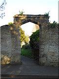 TF1205 : Gateway to St. Botolph's Church, Helpston by Paul Bryan